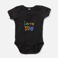 Jesus Daddy and Mommy Love Me Body Suit