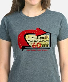 Over The Hillville 60 Women's Dark T-Shirt