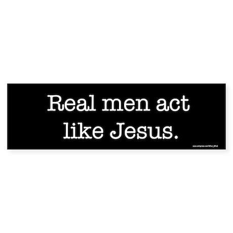 Real men Bumper