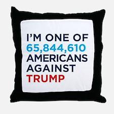 Unique Against Throw Pillow