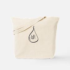 Black Bi Tote Bag