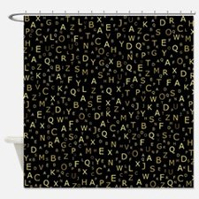 Cute Characters Shower Curtain