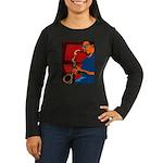 Plumbing Women's Long Sleeve Dark T-Shirt