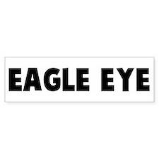 Eagle eye Bumper Bumper Sticker