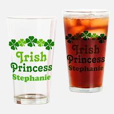 Irish Princess Personalized Drinking Glass