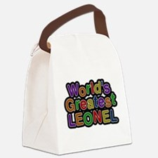 Worlds Greatest Leonel Canvas Lunch Bag
