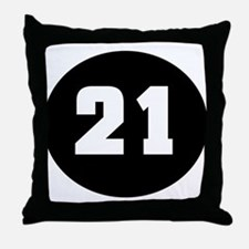 21 (in memory of) Throw Pillow
