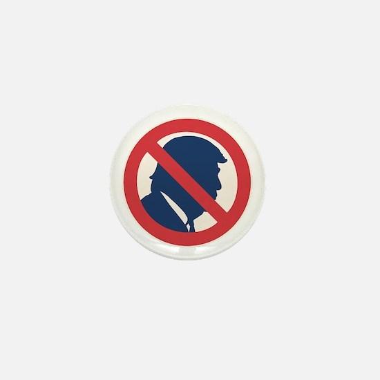 Anti President Trump Mini Button