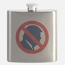Anti President Trump Flask