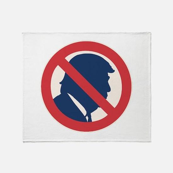 Anti President Trump Throw Blanket