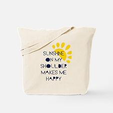 Sunshine on My Shoulder Tote Bag
