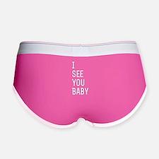 See You Baby Women's Boy Brief
