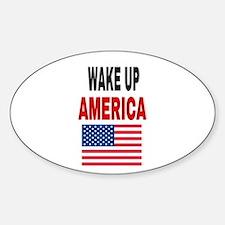 WAKE UP AMERICA Decal