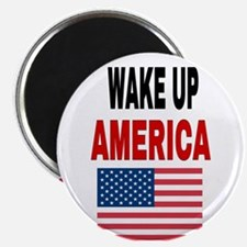 WAKE UP AMERICA Magnets