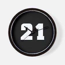 21 (in memory of) Wall Clock
