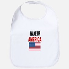 WAKE UP AMERICA Baby Bib