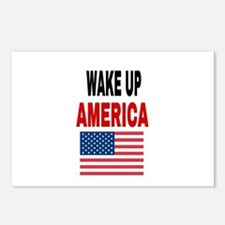 WAKE UP AMERICA Postcards (Package of 8)