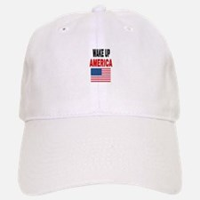 WAKE UP AMERICA Baseball Baseball Cap