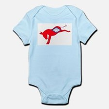 Arkansas Democrat Donkey Flag Body Suit