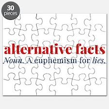 Alternative facts: a euphemism for lies Puzzle