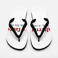 Alternative facts: a euphemism for lies Flip Flops