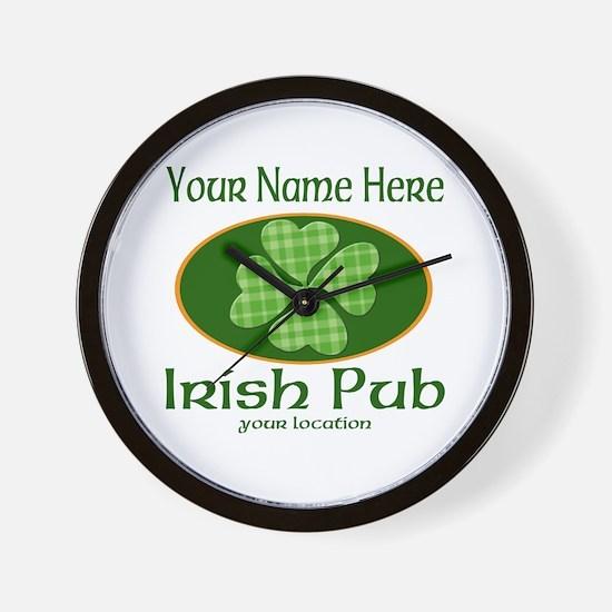 Irish Pub Wall Clock