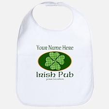 Irish Pub Baby Bib