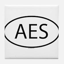 AES Tile Coaster