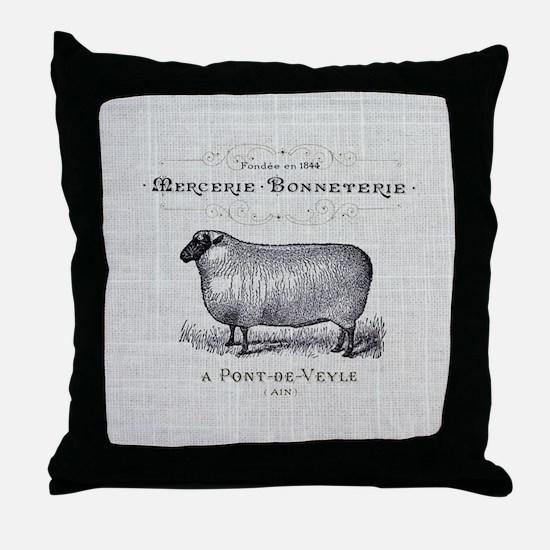 Cute Farm animals Throw Pillow