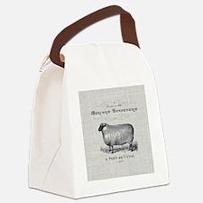Cute Farm animals Canvas Lunch Bag
