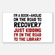 Bookaholic Decal