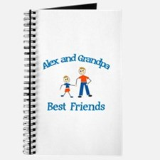 Alex & Grandpa - Best Friends Journal