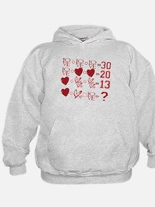 Valentine's Day Love Equation Sweatshirt