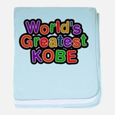 Worlds Greatest Kobe baby blanket