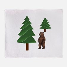 DISCOVERY Throw Blanket