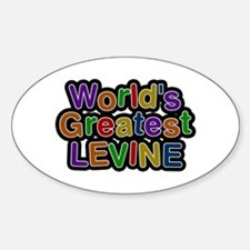 World's Greatest Levine Oval Decal