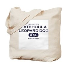 Property of Catahoula Leopard Dog Tote Bag