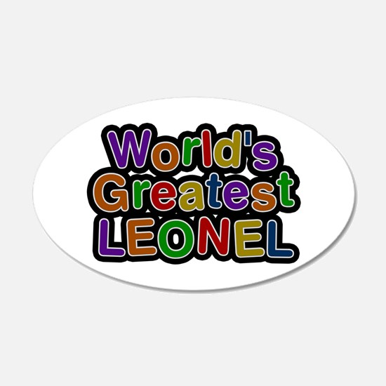 World's Greatest Leonel Wall Decal