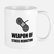 Weapon of Stress Reduction Gaming Mugs