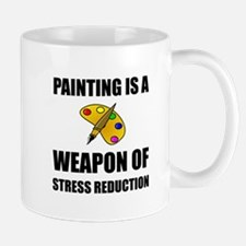 Weapon of Stress Reduction Painting Mugs