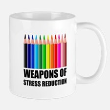 Weapons of Stress Reduction Coloring Mugs