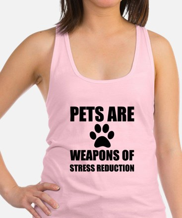 Weapon of Stress Reduction Pet Tank Top