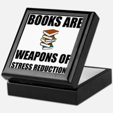 Weapons of Stress Reduction Reading Keepsake Box