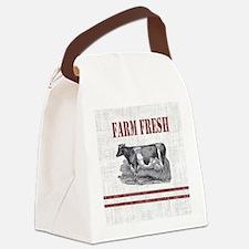 Unique Farm Canvas Lunch Bag