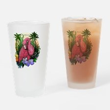 Unique Outdoor flamingo Drinking Glass