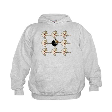 Stand Out From the Herd Kids Hoodie