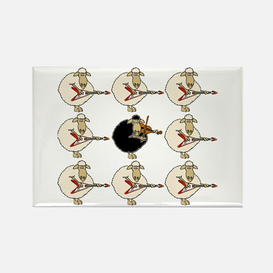 Stand Out From the Herd Rectangle Magnet