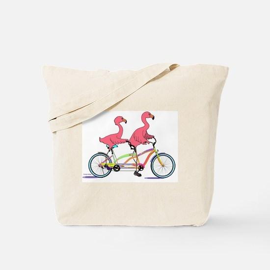 Cool Flamingo Tote Bag