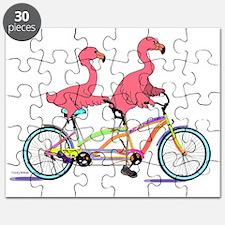 Unique Flamingoes Puzzle