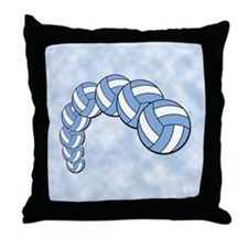 Volleyball Arch Throw Pillow